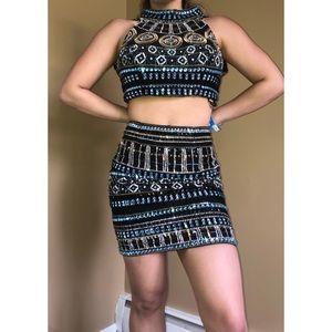 Sherri Hill 2 piece prom/formal dress (Size 4)
